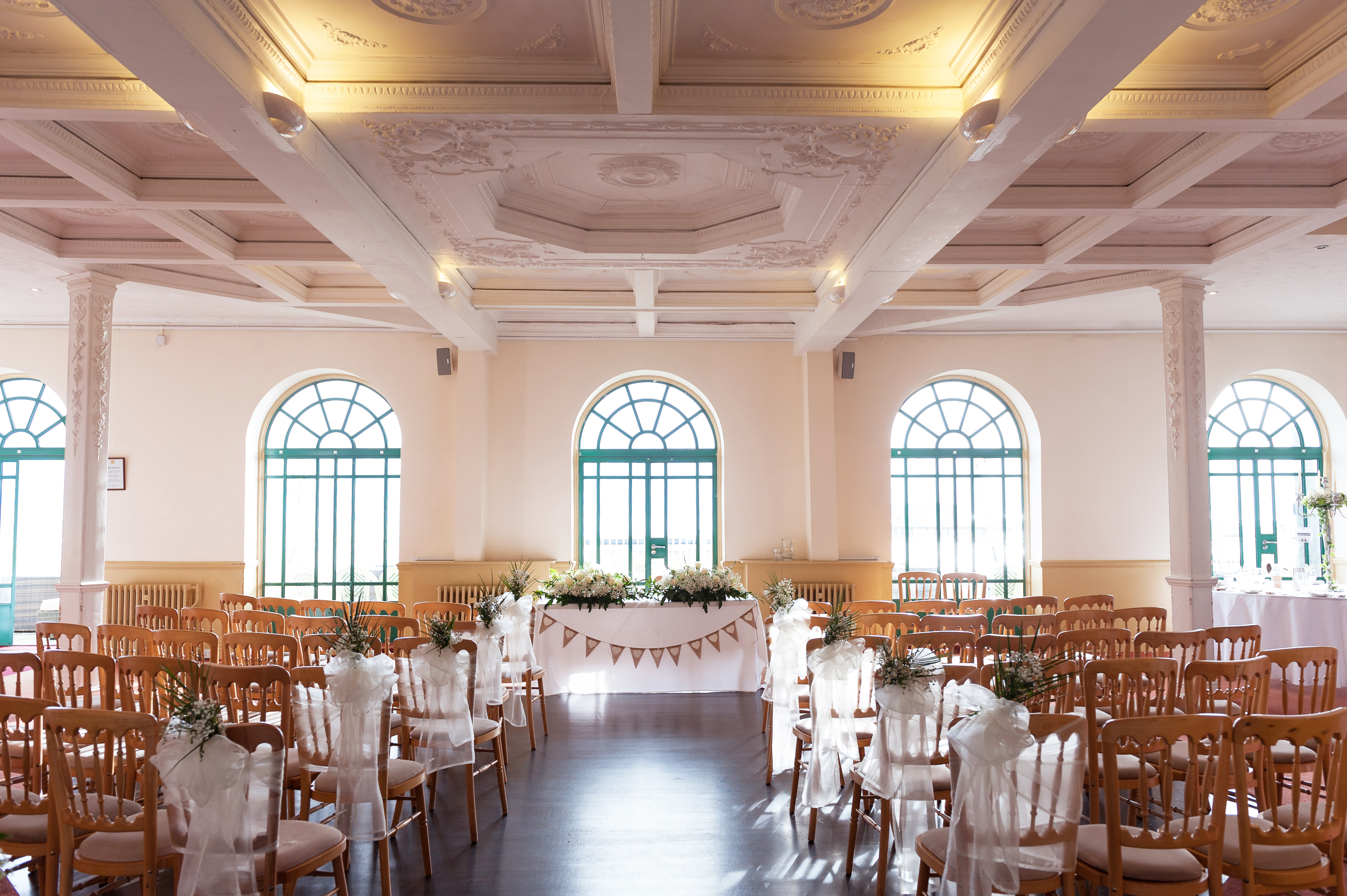 Wedding-The Dome-Main- Lounge-Ceremony-Ribbons
