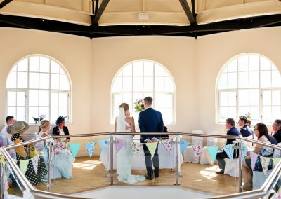 Worthing-Dome-Wedding-Whispering- Gallery-Bunting-Summer