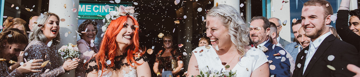 Worthing Dome Wedding Confetti