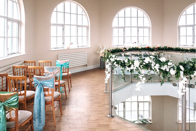 Worthing Dome Whispering Gallery Wedding Decorations