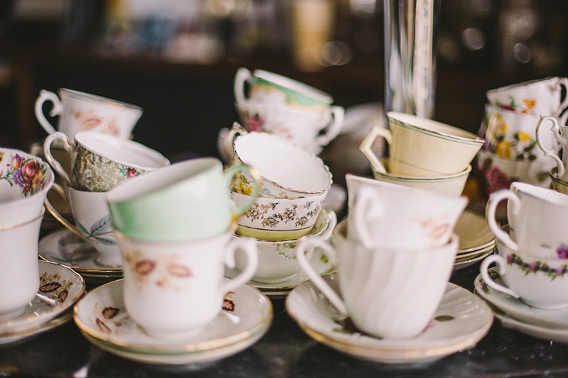 Worthing Tearoom Vintage Crockery