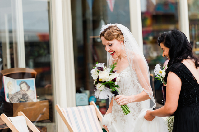 Brides Arrival At Sussex Wedding Venue