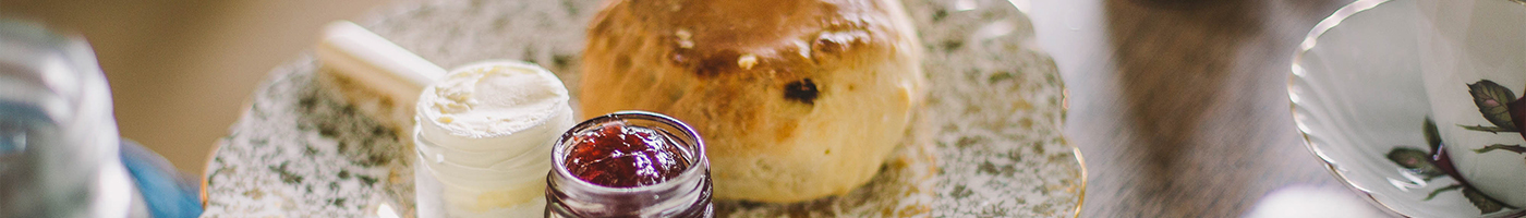 Home Made Scones In The Worthing Dome Tea Room