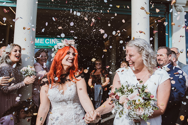 Confetti Shot In Worthing