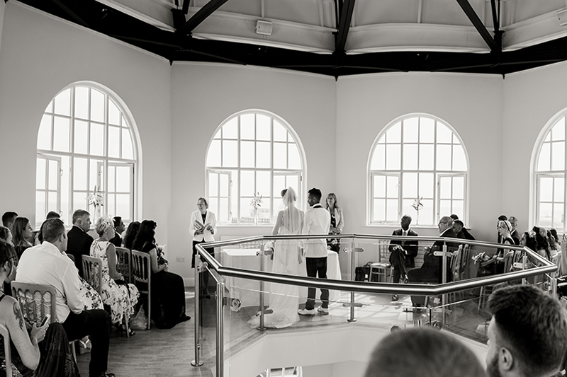 Wedding Ceremony In The Whispering Gallery