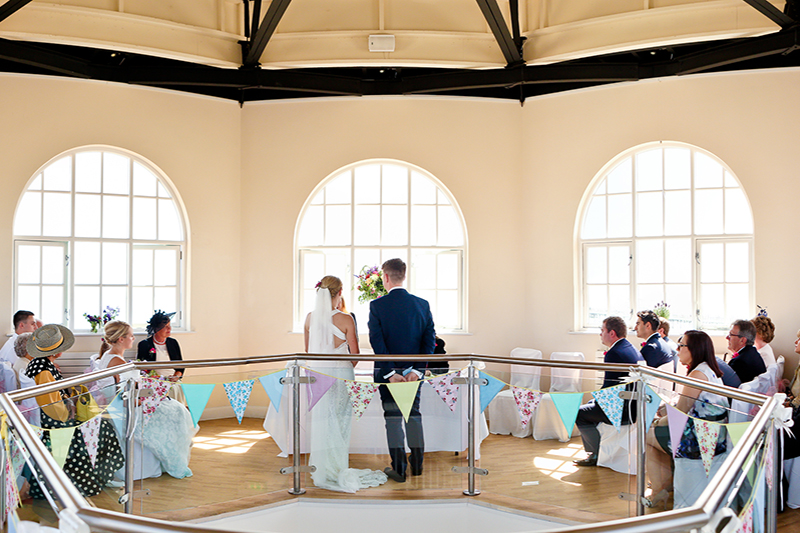 Worthing Dome Whispering Gallery Wedding Ceremony