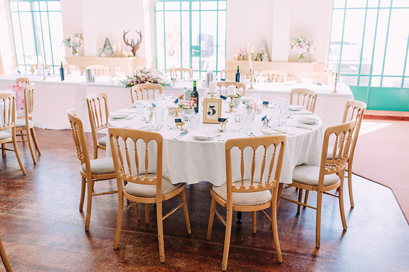 Worthing Wedding Reception Styling