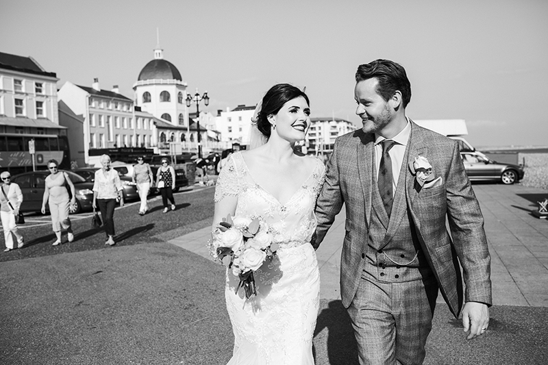 Worthing Dome Wedding Portrait