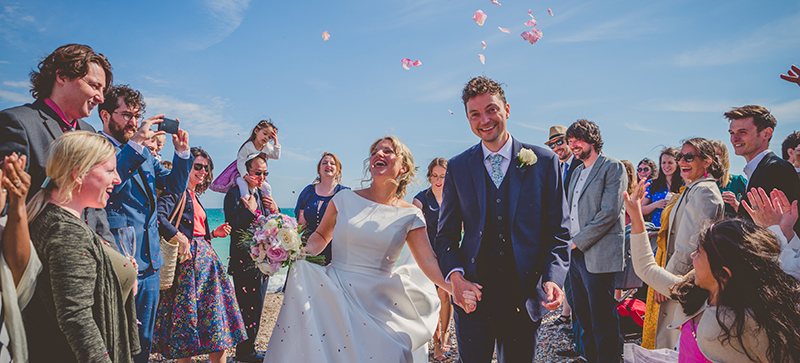 Wedding Portraits from the Worthing Dome, Sussex