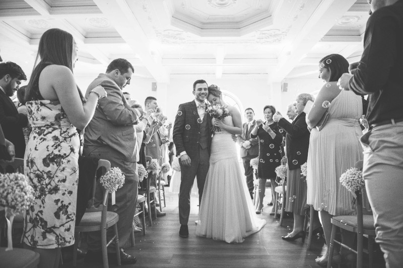 Worthing Dome Wedding, Main Lounge Ceremony