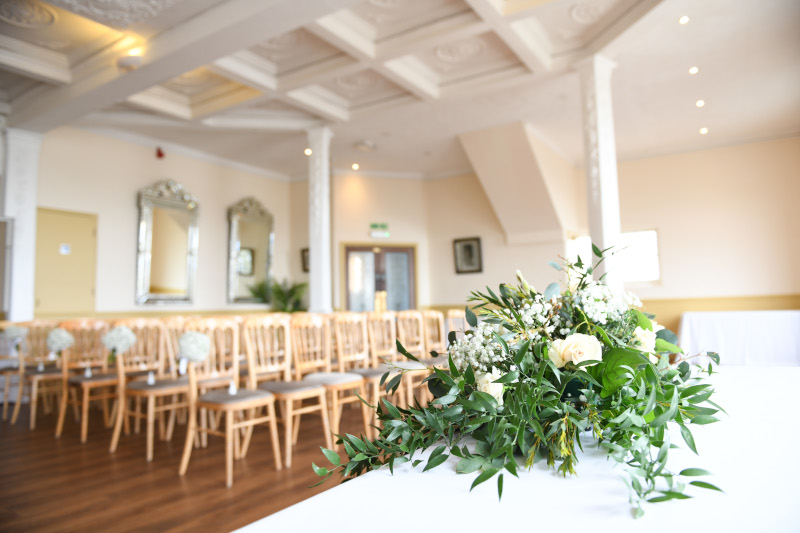 Worthing Wedding, the Main Lounge.